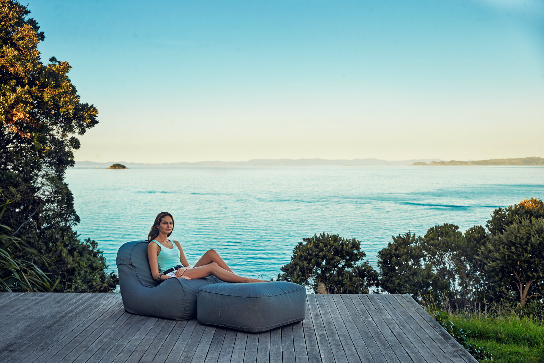 Coast new zealand luxury outdoor beanbags canvas luggage natural textiles leather accessories