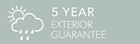 5 Year Exterior Guarantee