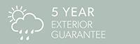 5 Year Exterior Guarantee